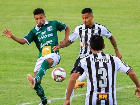 De virada, Caldense vence o Atlético-MG