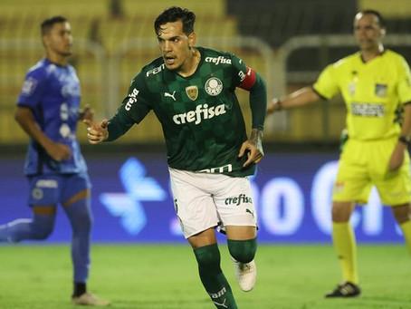 Gustavo Gómez falha, mas se redime e Palmeiras empata com São Bento em Volta Redonda
