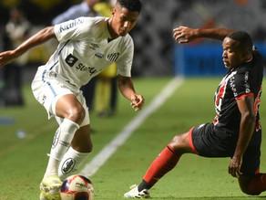 Jogando com todos os reservas, Santos empata em casa com Botafogo-SP