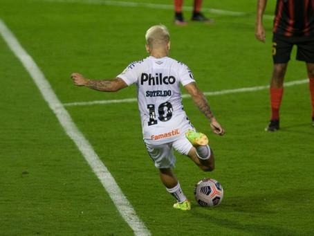 Santos fica no empate com Deportivo Lara e avança na fase eliminatória da Libertadores