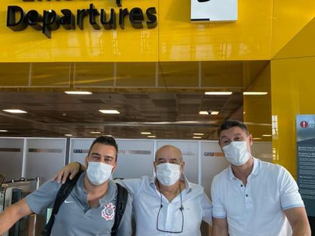 Cartolas do Corinthians viajam em busca de parcerias no Oriente Médio