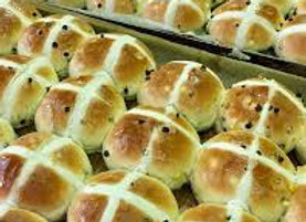 Winnies Hot Cross Buns
