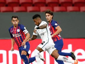 Santos empata com San Lorenzo e se classifica para fase de grupos da Libertadores