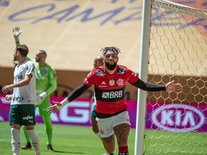 Em jogo eletrizante, Flamengo vence Palmeiras nos pênaltis e conquista o Bi da Supercopa do Brasil