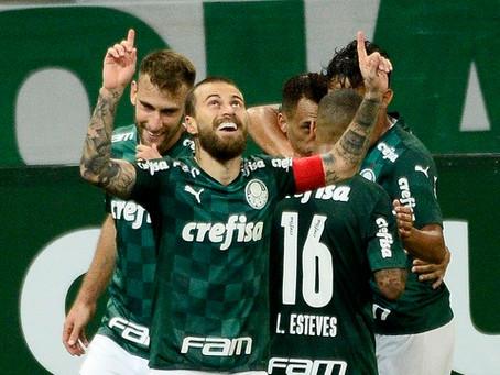 Palmeiras vence São Caetano por 3x0 em grande noite de Lucas Lima