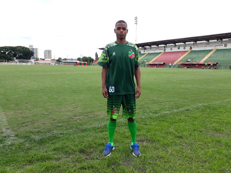 Destaque da Bezinha na temporada 2020, Rodrigo Guimarães é emprestado pelo Rio Branco