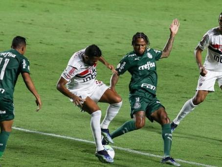 Fim do sonho! São Paulo sofre gol no final, empata com Palmeiras e esta forá da briga por título