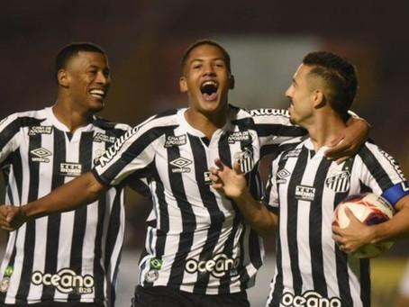 Meninos da Vila estreiam com empate contra o Santo André