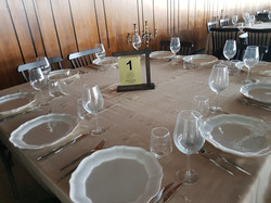 עיצוב שולחן אולם אירועים