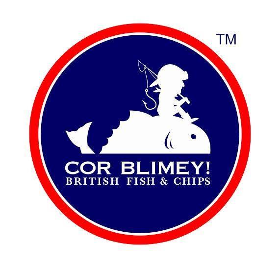Cor Blimey! logo