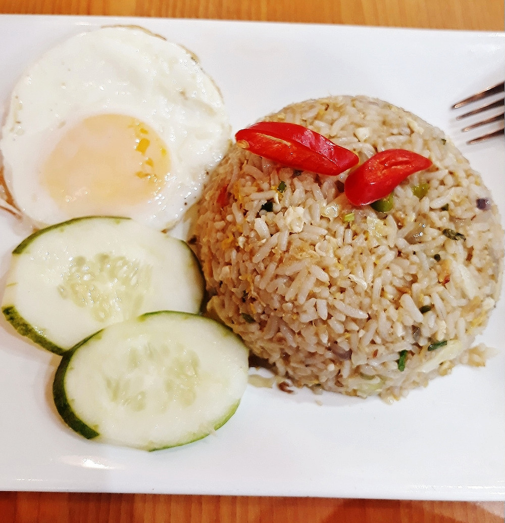 Kluang Station's Salted Fish Fried Rice