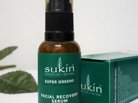 Sukin's Super Greens Facial Recovery Serum (Choose Cruelty Free-Certified)