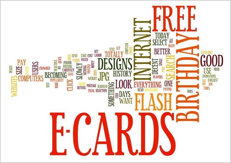 E-cards vector art