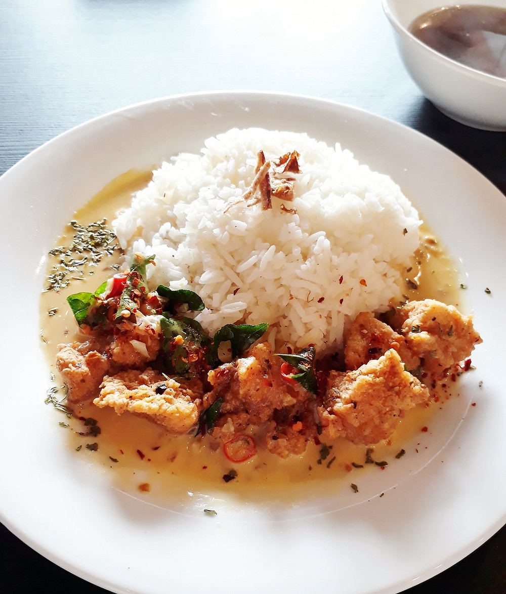 WOP Coffee & Bread's Butter Chicken with Rice