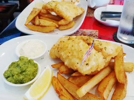 Fish and Chips Worthy of a COR BLIMEY!