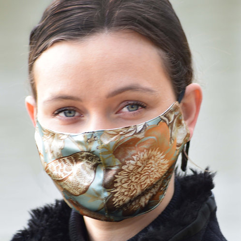 Birdy - 100% Mulberry Silk Mask