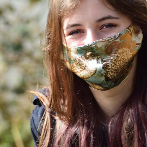 Birdy - 100% Mulberry Silk Mask