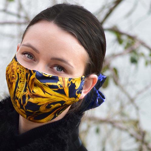Lion - 100% Mulberry Silk Mask
