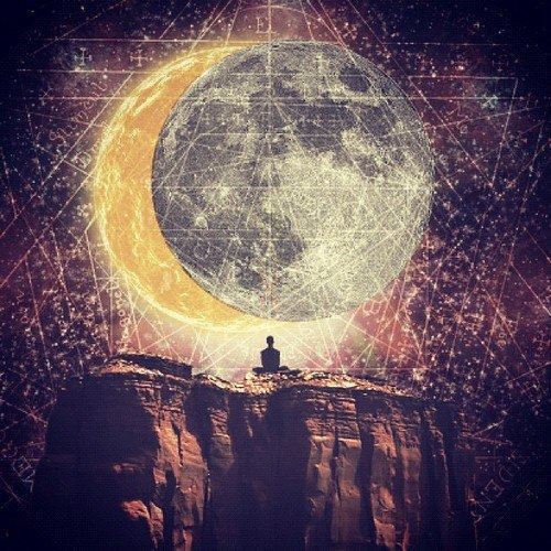 Meditation and the eclipse