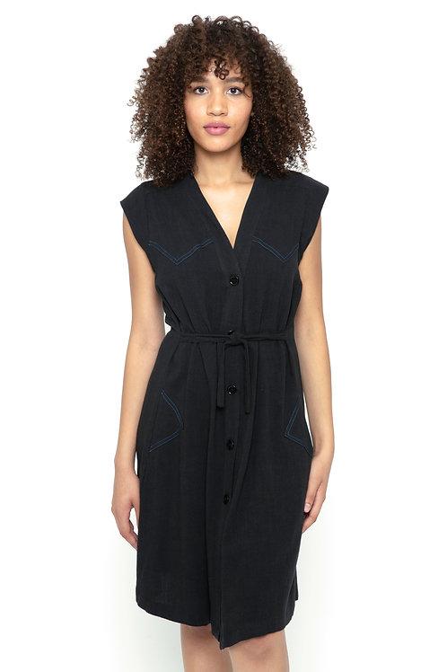 Carmen dress in Black