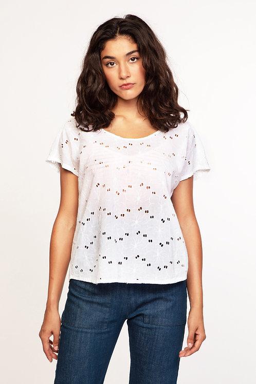 Bali blouse in white