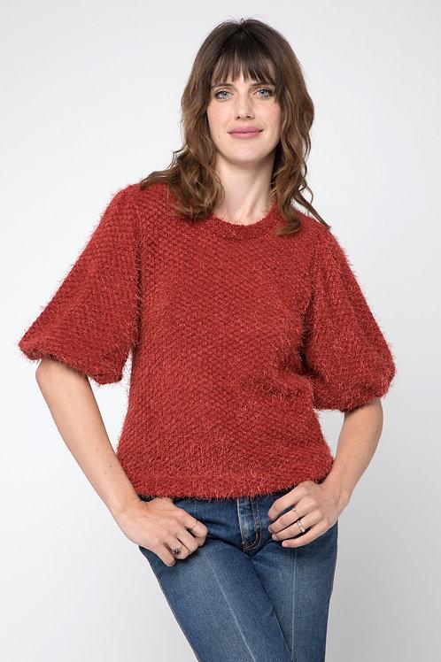 Chakra chenille sweater