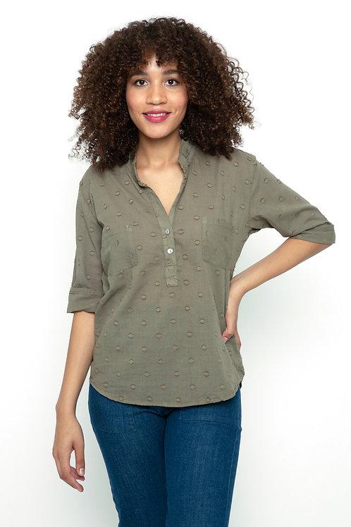 Tunic blouse in Polkadot