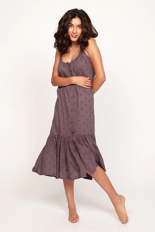 Maxi dress in vine