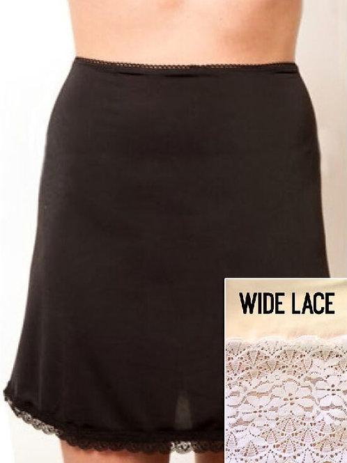 Half Slip w/ Wide or Narrow Lace