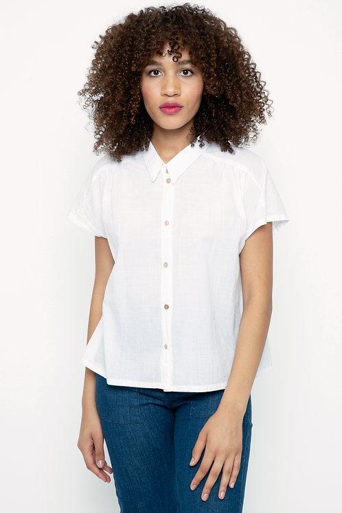 Carol blouse in Crosshatch