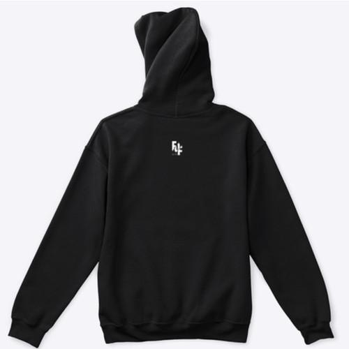 FOF CAID hoodie (back)