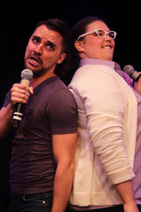 """Nellie singing """"Mooning"""" at Seize The Stage, a musical benefit with the Epilepsy Foundation of Greater Chicago"""