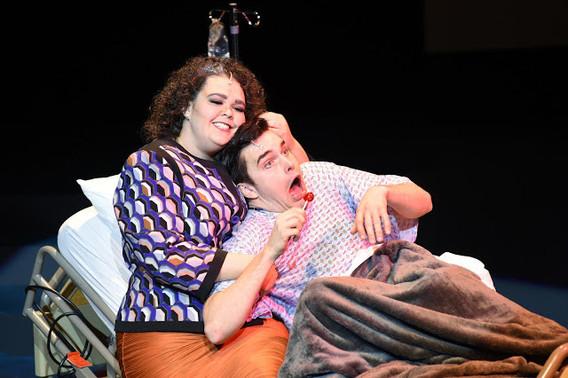 Nellie as Mimi Schwinn in A New Brain