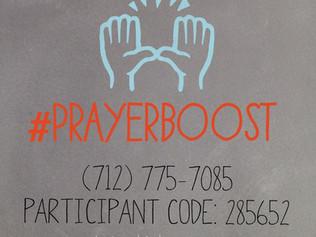 Who Needs a #PrayerBoost