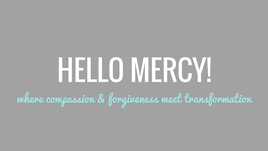 Hello Mercy Facebook Group
