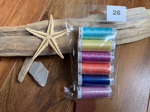 Mettler Poly-Sheen Threads - 40wt - Item #26