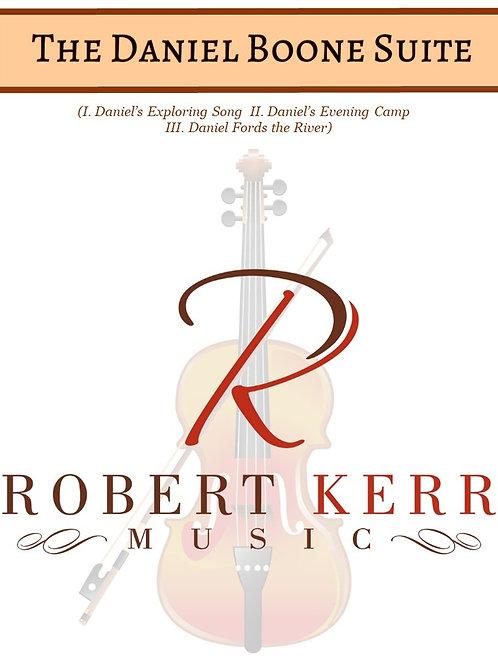 The Daniel Boone Suite - Conductor's Score