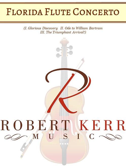 Florida Flute Concerto - Score & Parts