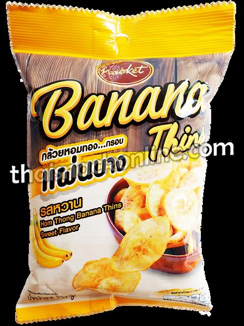 Nacket - Banana Chips Sweet Homthong (33g)