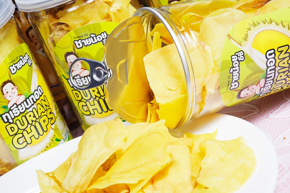 Chainoi Durian Chips