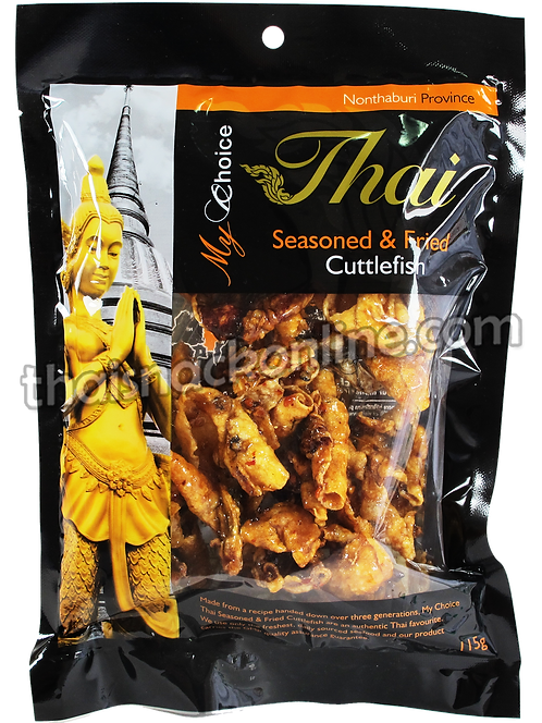 My Choice Thai - Seasoned & Fried Cuttlefish  (70g)