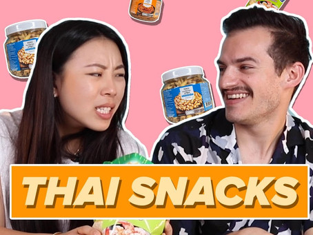 Aussies try Snacks from Thailand   BuzzFeedOz