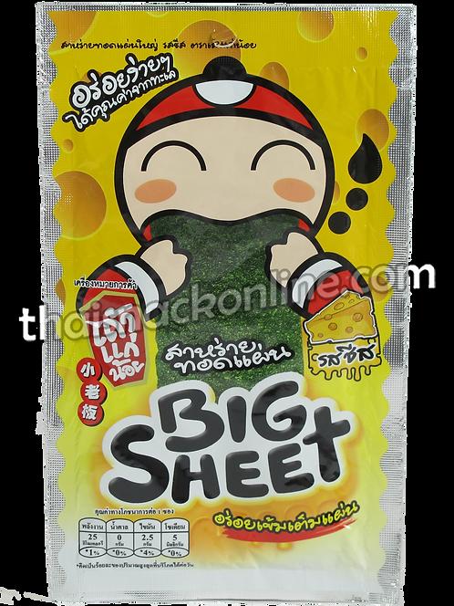 Big Sheet - Crispy Seaweed Cheese (4g)