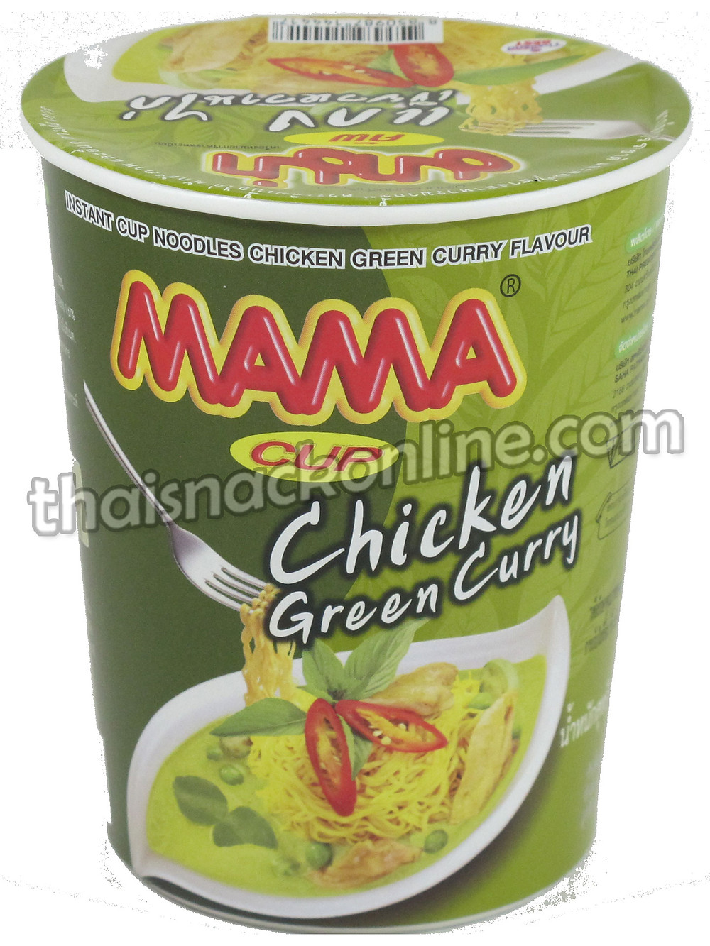 Mama Cup - Green Chicken Curry