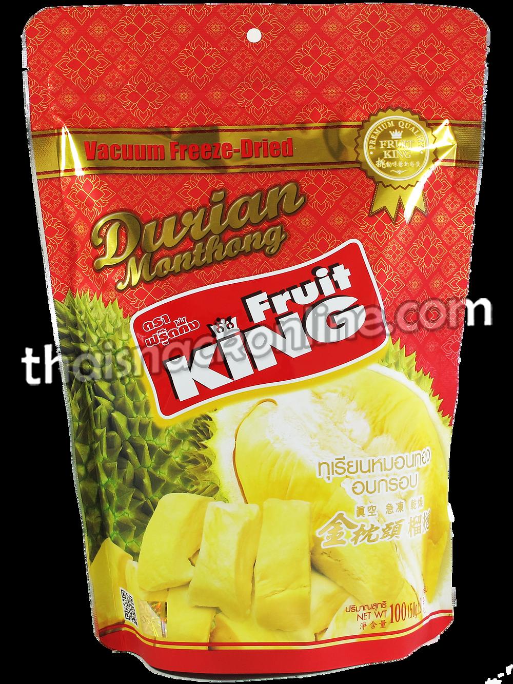 Fruit King - Dried Durian Monthong