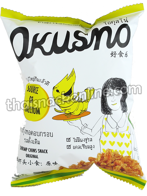Okusno - Fried Shrimp Chins Original (24g)