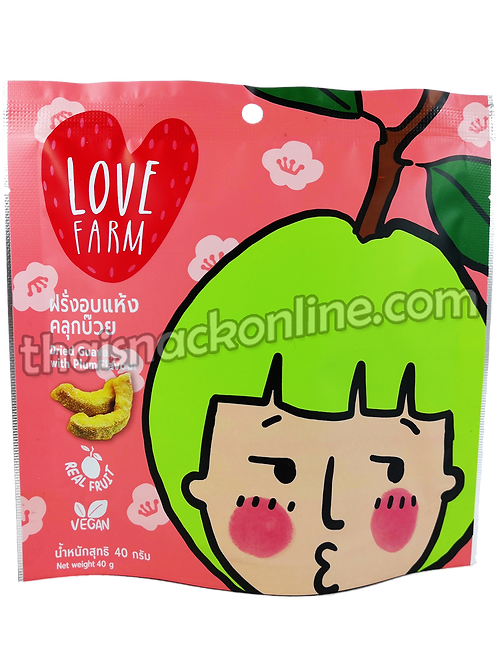 Love Farm - Dried Guava with Plum (40g)