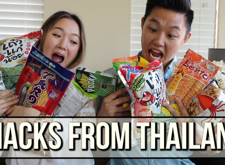 Thailand Snack Time | Susie & Charlie