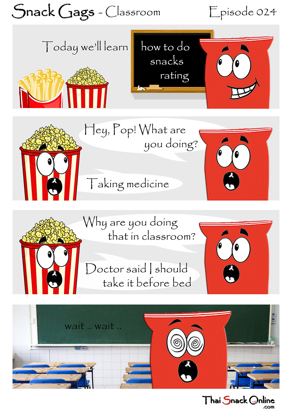 Snack Gags Ep.24   Classroom