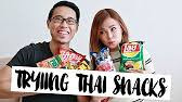 Trying Thai Snacks | Charis & Daryll